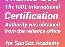 احصل على شهادة ICDL الدولية