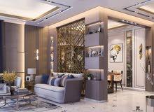 تصميم ثري دي ديكور داخلي وتنفيذ وتصميم الارمات والاعلانات بحرفية عالية