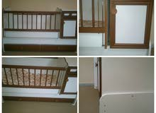 سرير أطفال 3 في 1