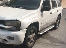 White Chevrolet TrailBlazer 2007 for sale
