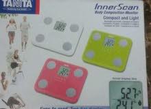 ميزان ديجنال لقياس نسبة الدهون والوزن  وقياس كتلة العضلات ياباني