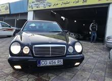 For sale 1998 Black E 200