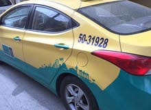 Automatic Yellow Hyundai 2012 for sale
