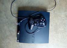 PS3 slim ba9i n9i fih 9 jeux  o mflashé avec tous les accesoir