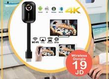 الدنجل المميز G9 Plus لشبك الجوال أو التابلت أو الكمبيوتر  على شاشة التلفاز  يدعم 4K