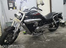 Used Hyosung motorbike made in 2010 for sale