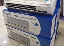 مكيف هواء ساخن فقط صوبة كهرباء شكل مكيف هيتر 40 دينار