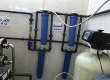 مصنع مياه بكامل معداته و مستلزماته و زبائنه