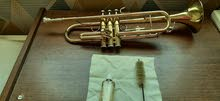Trumpet for sale in a semi-good condition.