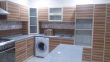 all new kitchen cabinets and the sale