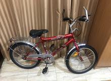 دراجة هوائية على الطرق
