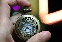 ساعات كوارتز برونزية انتيك بغطاء مع سنسال  جديدة للبيع watch quartz