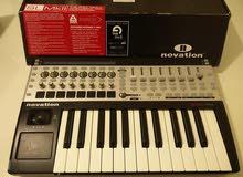 للبيع أورج مع ادوات مزج novation 25 key sl mkii