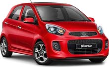 Kia Picanto car is available for  rent