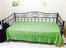 Single bed with Mattress for sale AED 450