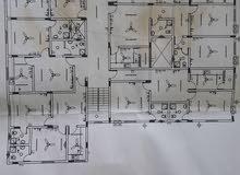 بناية جديده سكني تجاري 15 شقة +6 محلات