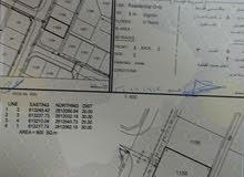 ارض للبيع600م  المعبيلة الرابعة بلوك 10