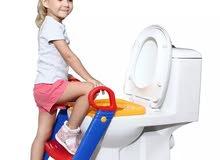 كرسي الطفل لاستعمال الحمام بنفسه