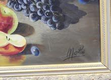 لوحات فنيه للبيع كانت في احد قصور  جلالة الملك سعود بن عبد العزيز ال سعود رحمه الله