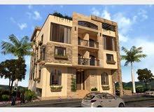 فرصة شقة دوبلكس للبيع امام مول العرب في اكتوبر 220م بحديقة