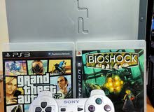 PS3+CONTROLLER+GAME