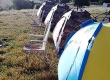مخيم فريق مكاحله يمتاز بأطلاله مدهشة على جبال السلط وسد الملك طلال