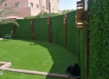 تنسيق حدائق وتركيب السور التركي والتيل الصناعي بارخص الاسعار للتواصل والاستفسار