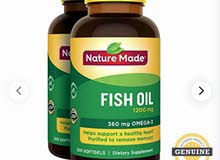 للبيع fish oil omega 3 بسعر مميز