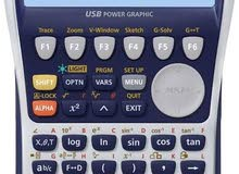 Casio calculator fx9860GII - كاسيو آلة حاسبة علمية