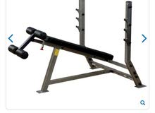 bodysolid - deluxe 2*3 decline olympic bench بنچ مايل للمحترفين