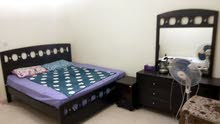 غرفة مفروشة لسيدة للايجار  room for lady