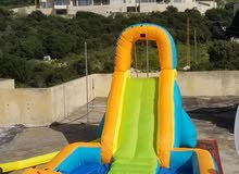 زحليطة slide for sale with blower