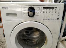 Samsung 7kg Diamond Drum white colour washing machine