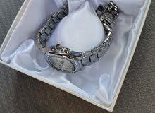 ساعة Veny Dolsy Silver نسائية فضية اللون Women watch