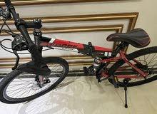 سيكل ( دراجة هوائية) + سكوتر اطفال عدد 2