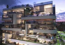 للبيع شقة 165م بحديقة في ارقي كمبوند داخل منطقة R8 العاصمة الادارية