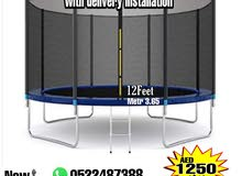 Trampoline For Sale 12ft price 1250