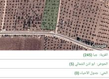 ارض للبيع في جرش جبا