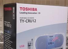 Toshiba Portable CD/USB/AM/FM Radio (TY-CRU12 White)