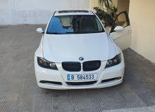 BMW white E90 2006