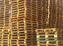 طبالي خشب مستعمل وجديد حسب الطلب والكميات