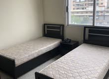 Double bed studios available for rent غرف مفروشة لشخصين قابلة للإيجار