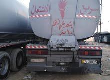 مقطورة أردنية صهريج للبيع