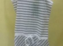 قميص نوم قطني قصير