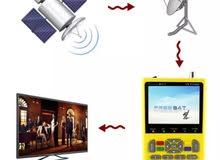 جهاز مكتشف إشارة التلفزيون من FREE SAT LCD