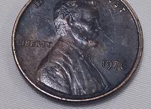 عمله معدنيه سنت امريكي1966 1967