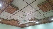 عمل سقوف ثانويه وديكورات للمنزل عمل ديكورات للجدران