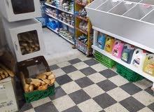 محل لبيع المواد الغذاءيةوالمرطبات والحليب الطري ومشتقاته