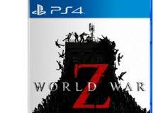 مطلوب اسطوانه world war z for ps4