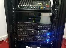 معدات الصوت الخاص بالمساجد